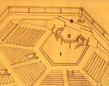 Plan of Chichester Festival Theatre Auditorium