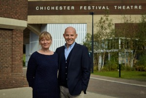 2. Chichester Festival Theatre's Executive Director Rachel Tackley and Artistic Director Daniel Evans. Photo by Tobias Key. IMG_5649