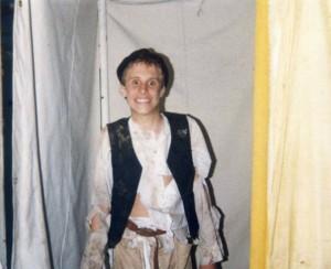 Captain Stirrick me in costume