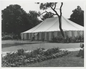 The Tent Studio space at Chichester Festival Theatre