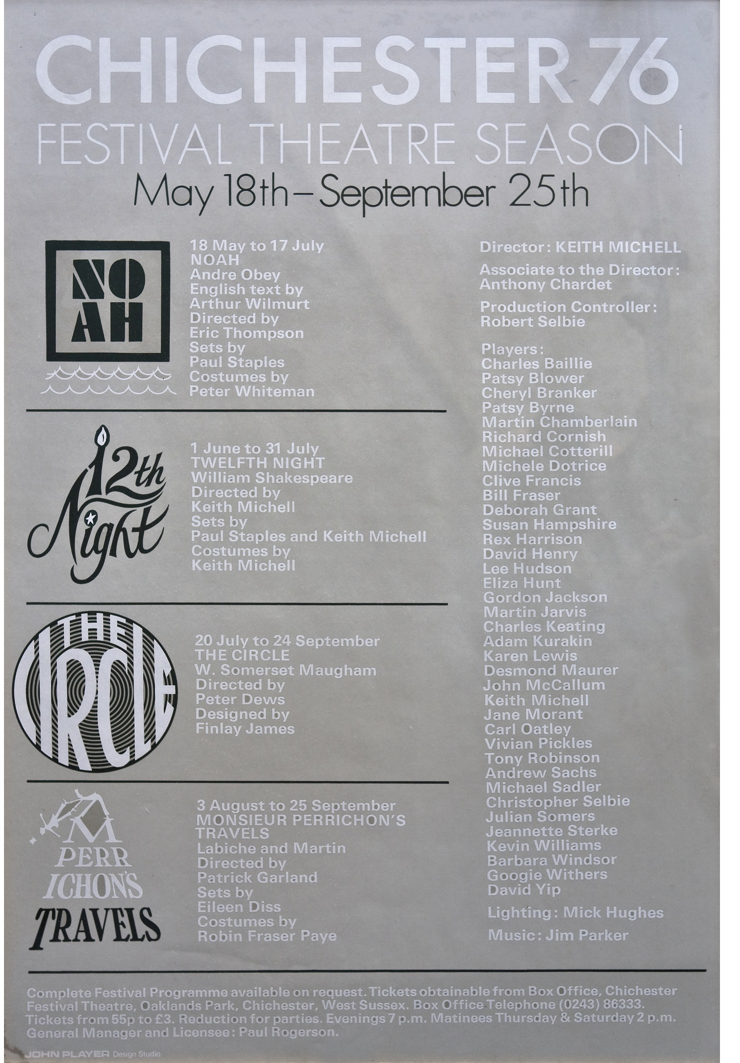 CFT 1976 Season Poster