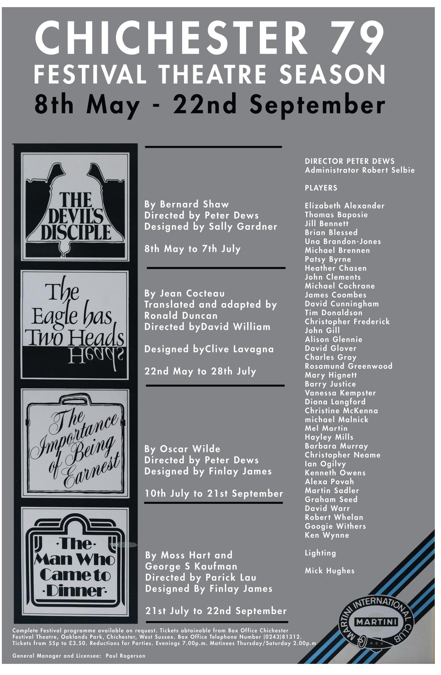 CFT 1979 Season Poster