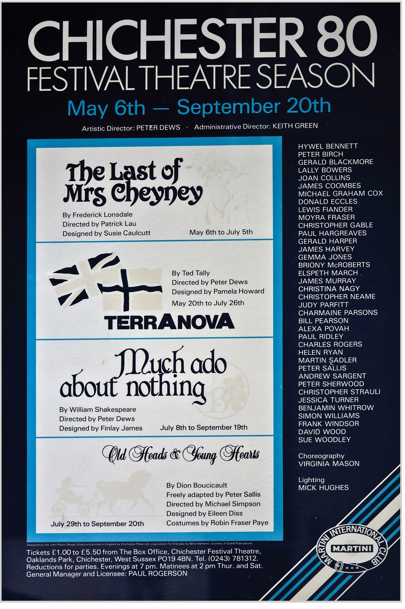 CFT 1980 Season Poster