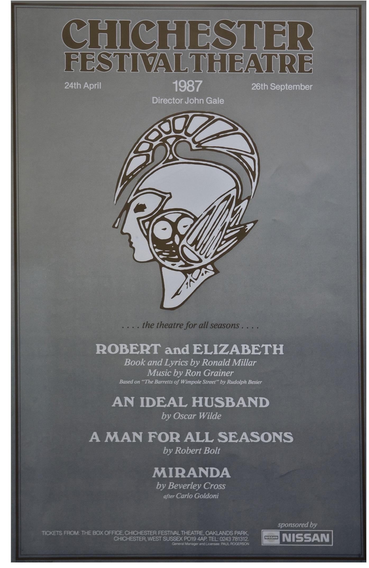 CFT 1987 Season Poster