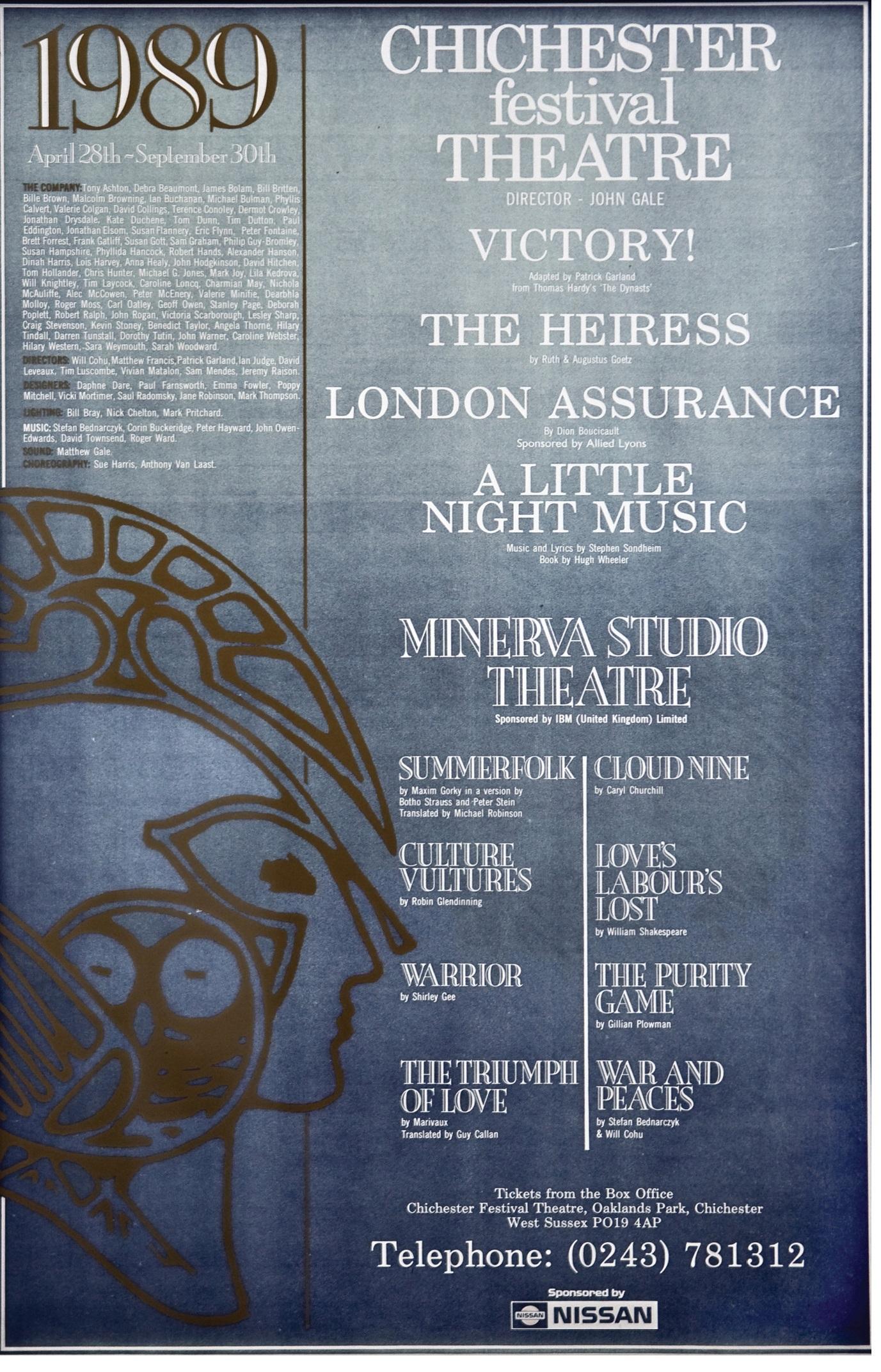 CFT 1989 Season Poster