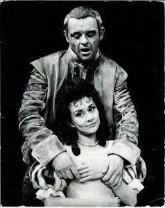 Anthony Hopkins & Joan Plowright