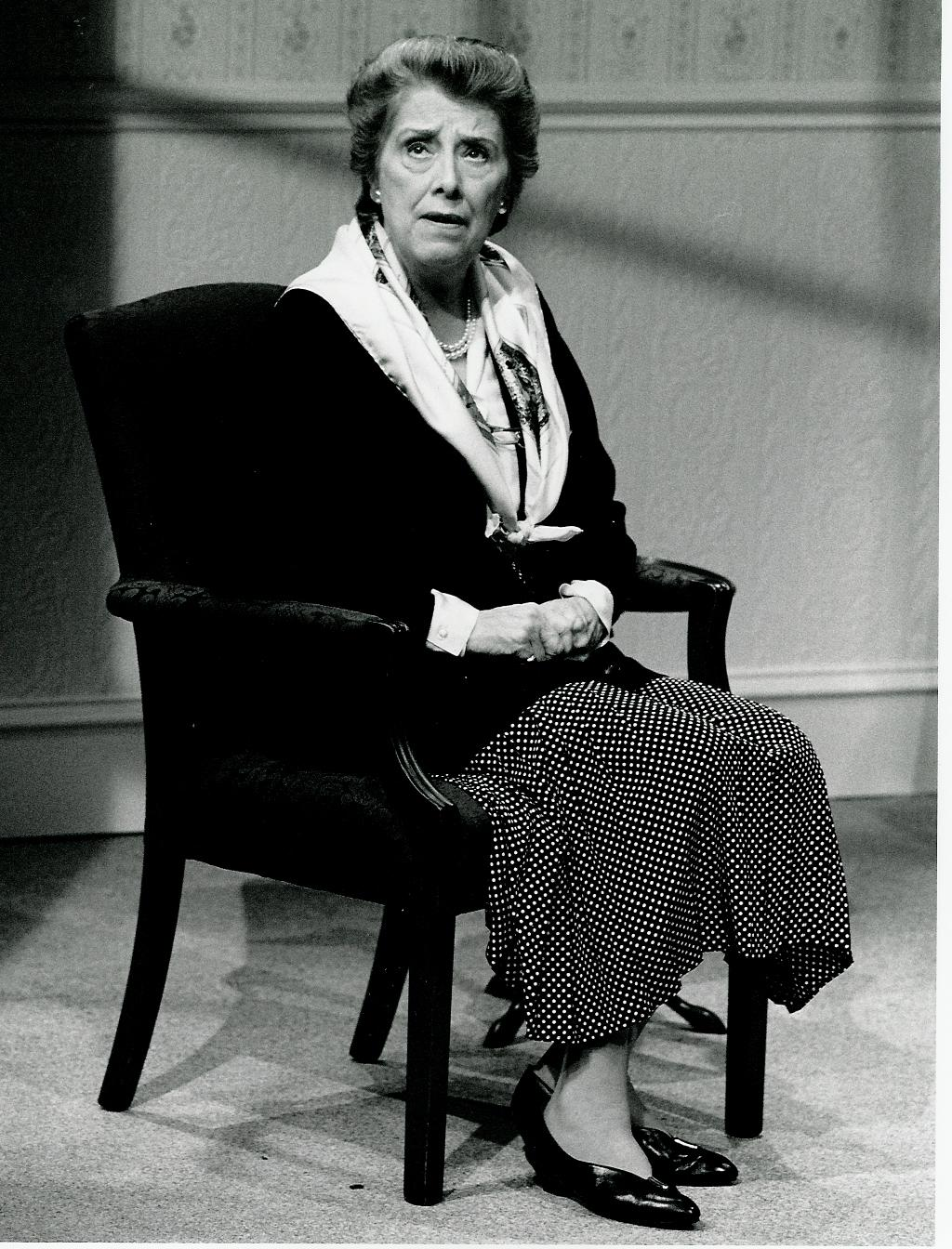 Margaret Tyzack in Soldiering On