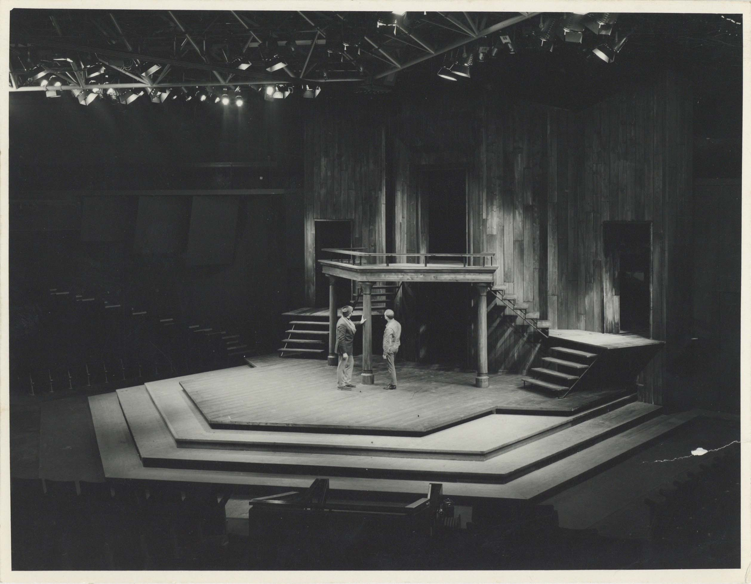 Photograph Interior Auditorium - Photographer unknown - Date unknown - Box 71 CFT WSRO - H21xW16