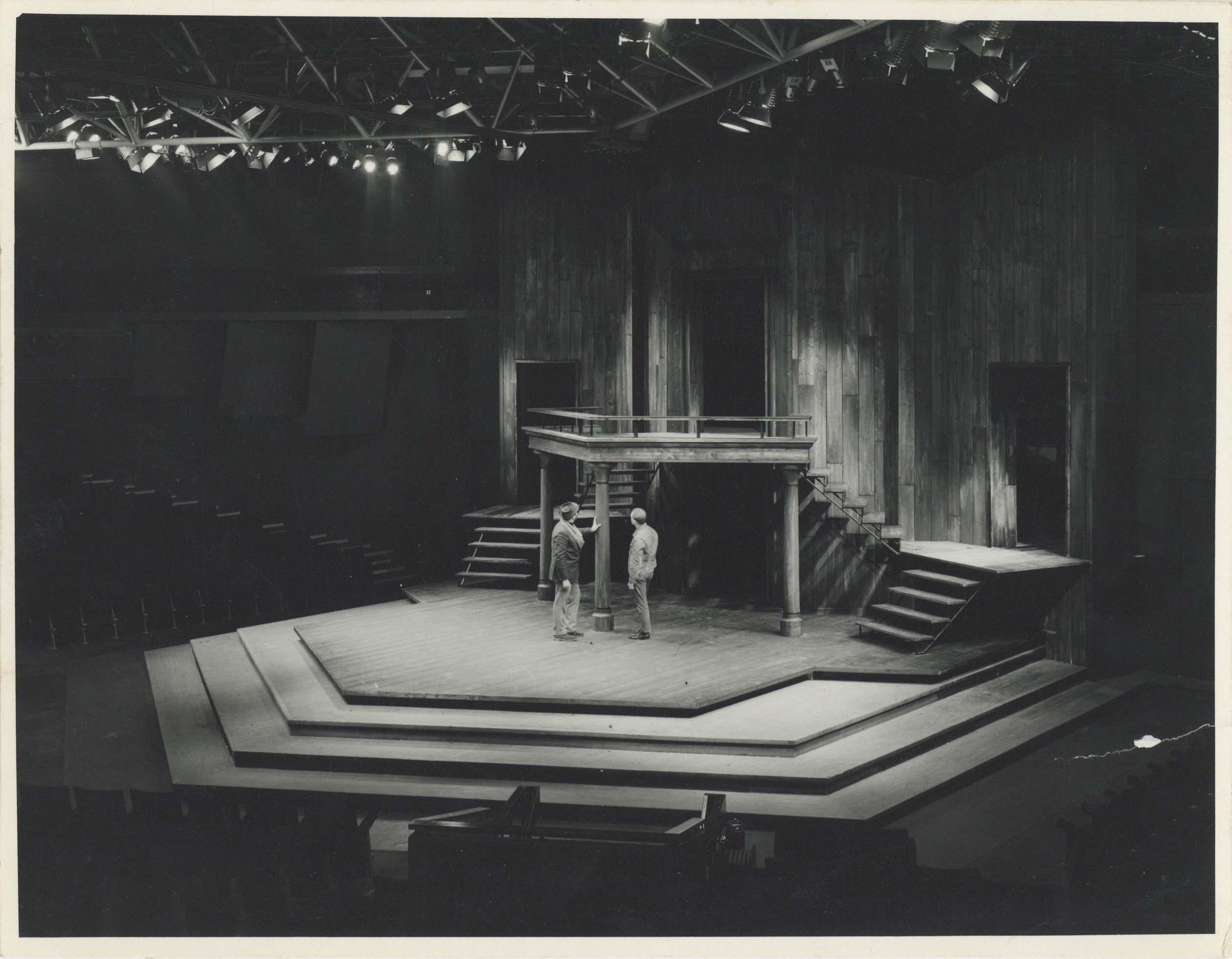 Photograph Interior Auditorium - Photographer unknown - Date unknown - Box 71 CFT WSRO - H21xW16