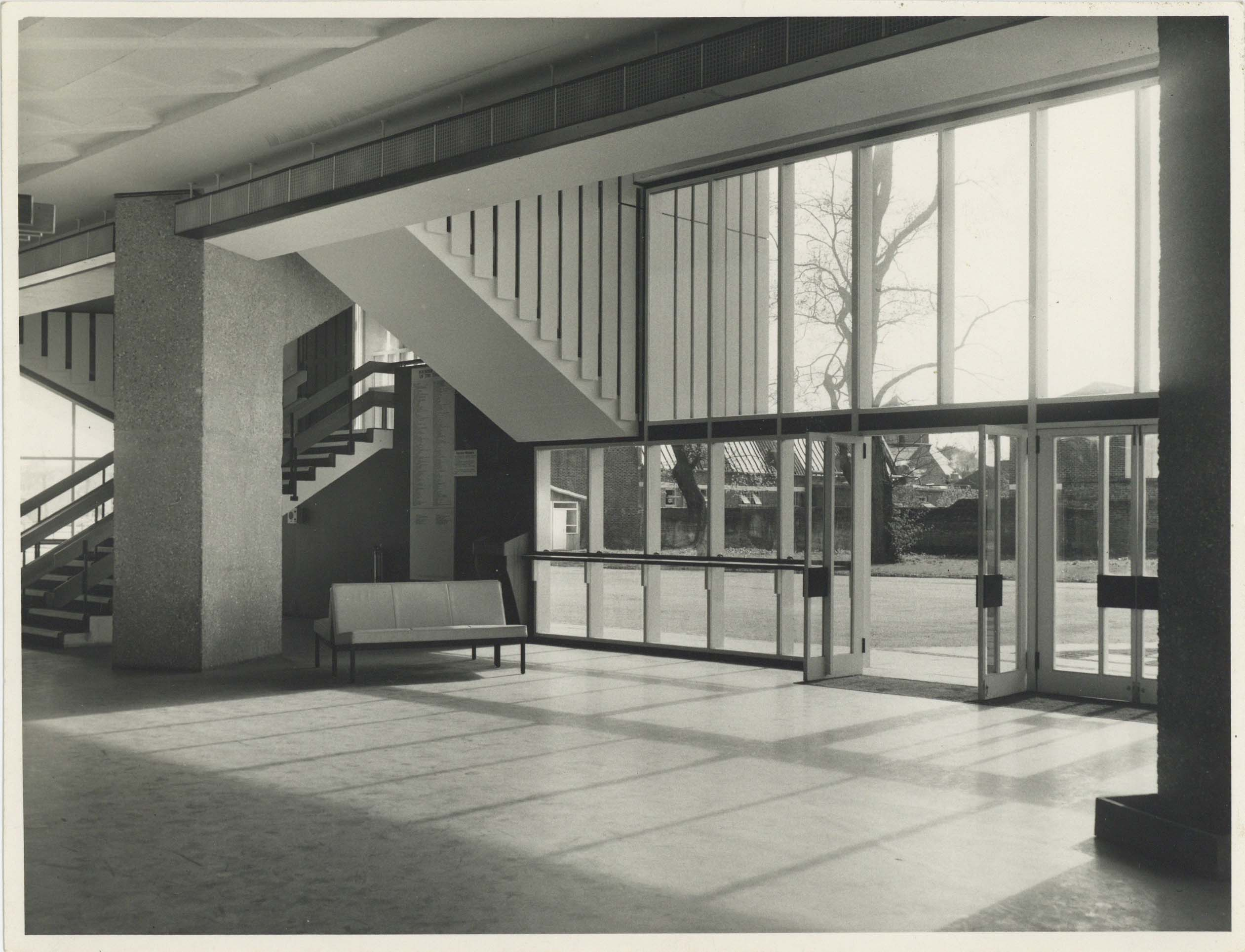 Photograph Interior Foyer - Photographer unknown - Date unknown - Box 71 CFT WSRO - H21xW16cm