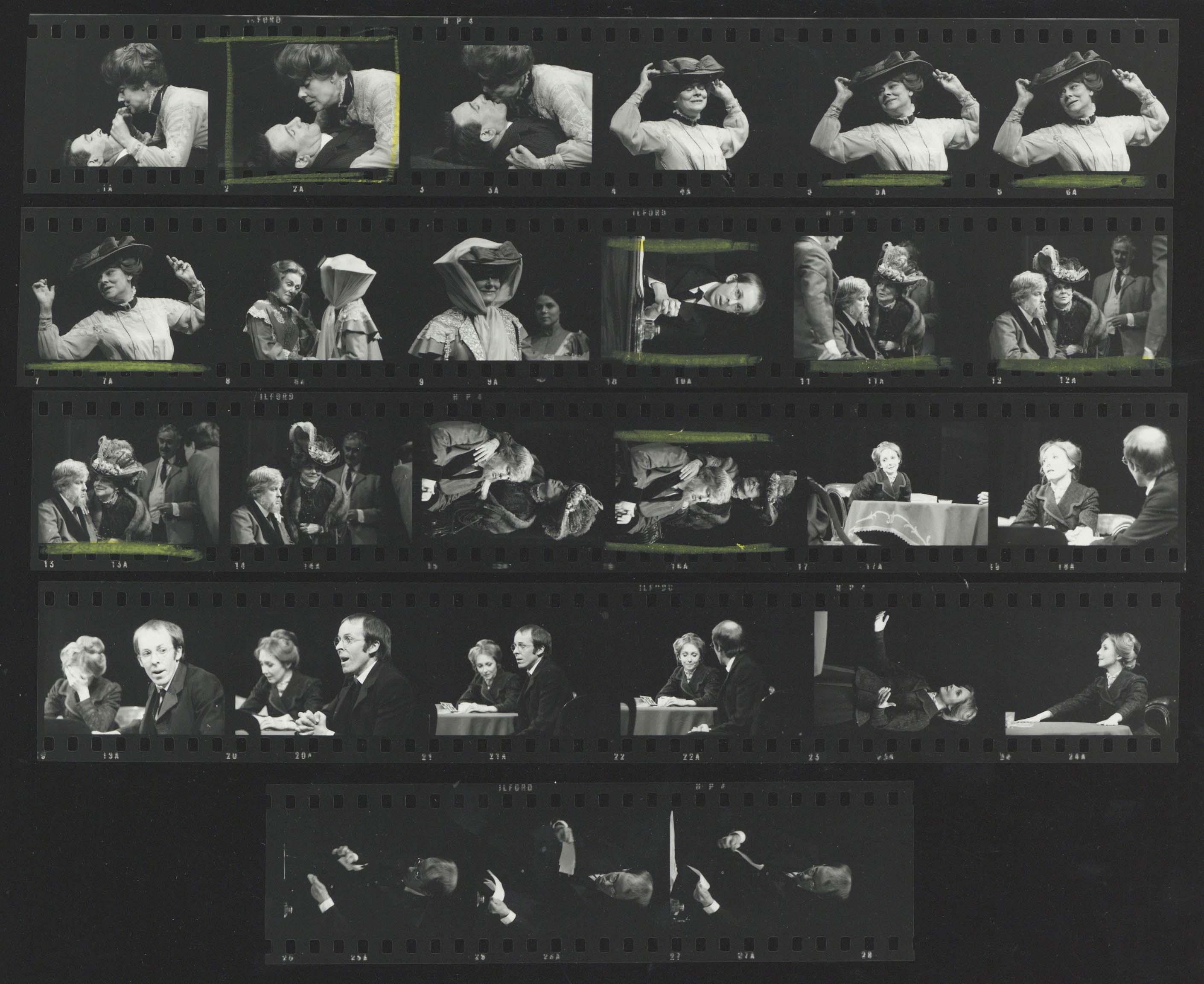 Photograph contact sheet - The Seagull - 1973 - CFT WSRO