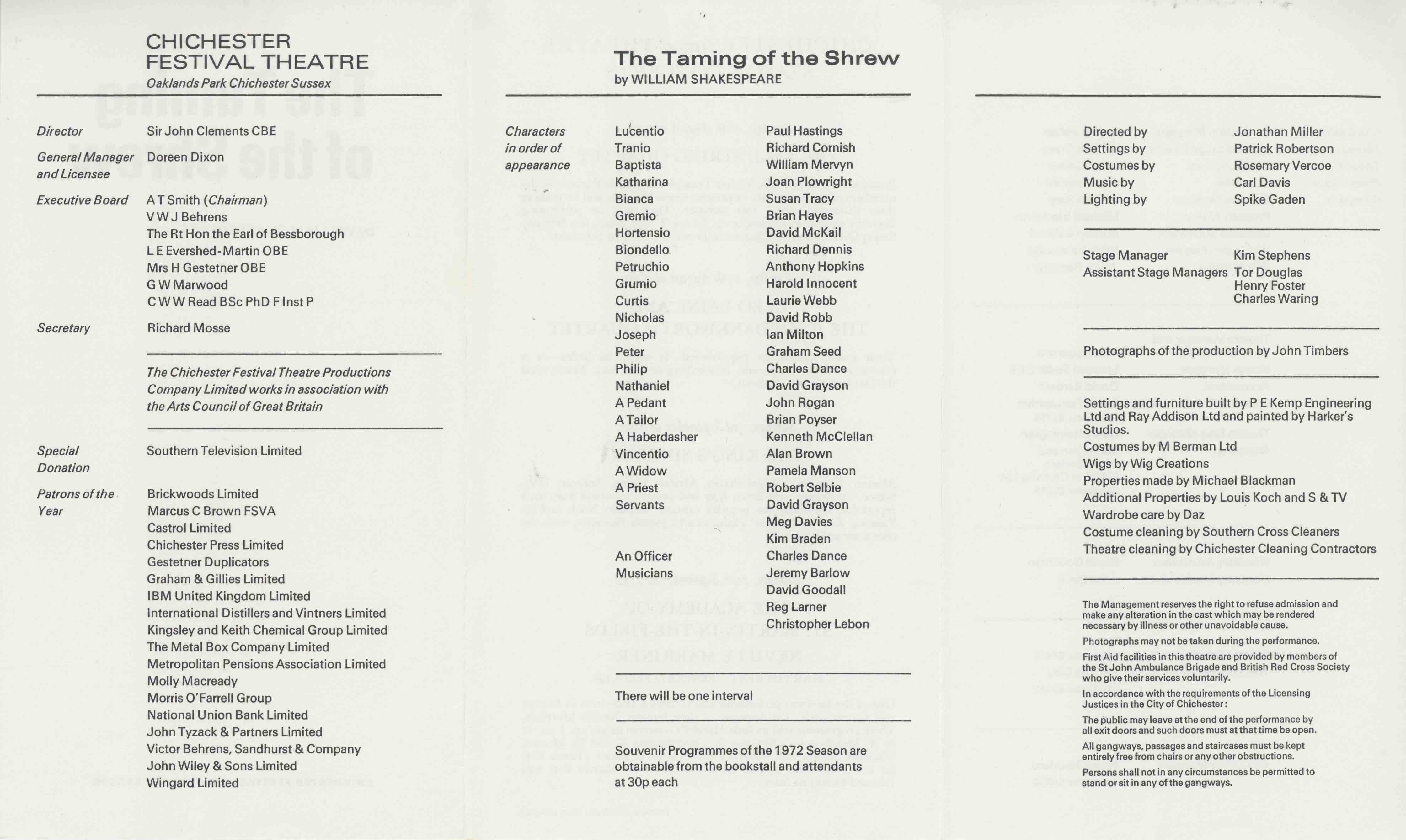 the shrewish character of katherina in the taming of the shrew by william shakespeare Taming of the shrew by william shakespeare  it is baptista who offers a  second dowry to petruchio for taming his untamable shrewish daughter,  katherine.