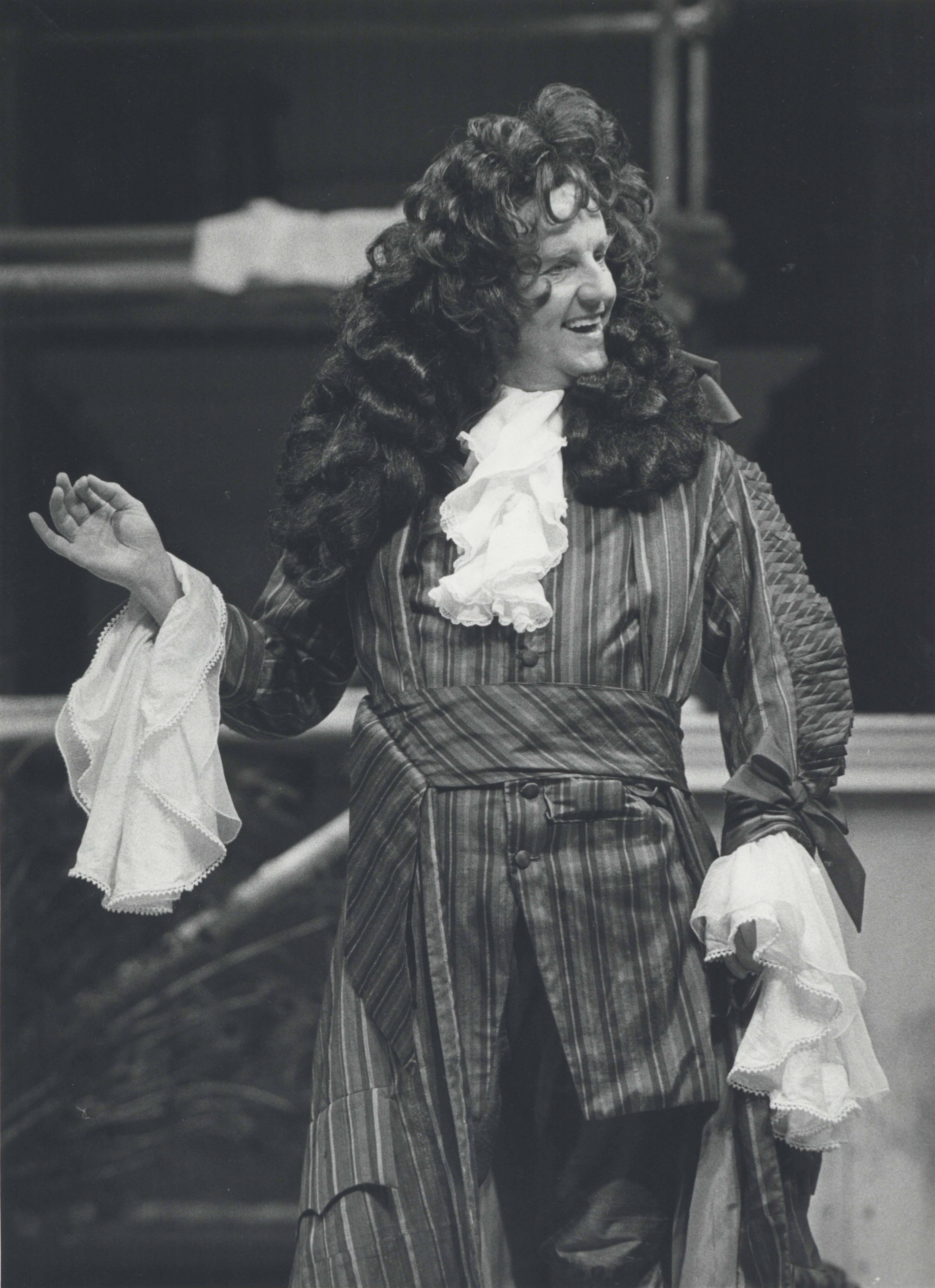 Production photograph The Relapse - 01 of 02 - Richard Briers - Photographer unknown - 1986 - Box 70 H25.5xW20.3cm