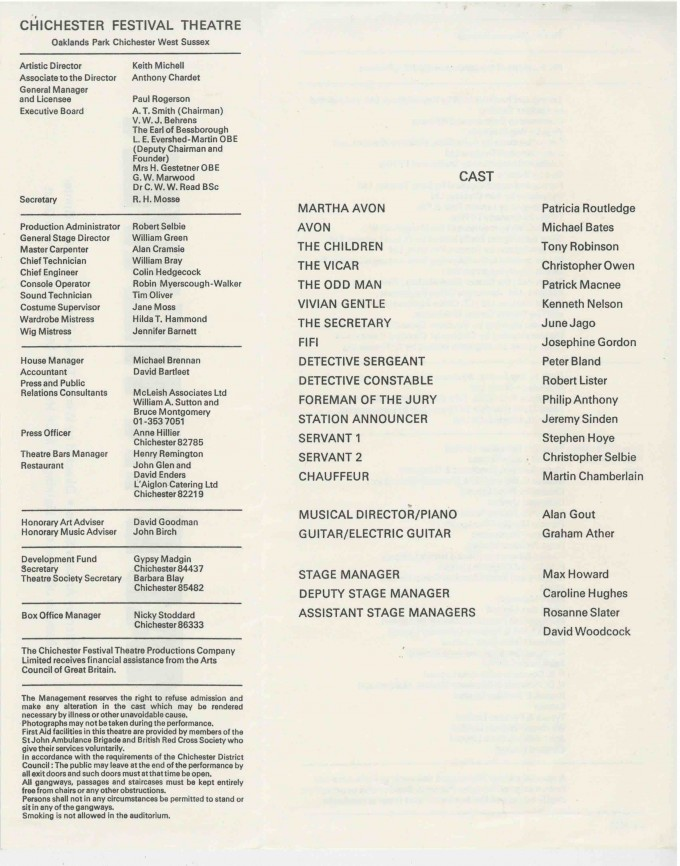 Cast List - Made in Heaven  - 1975- 2 of 2