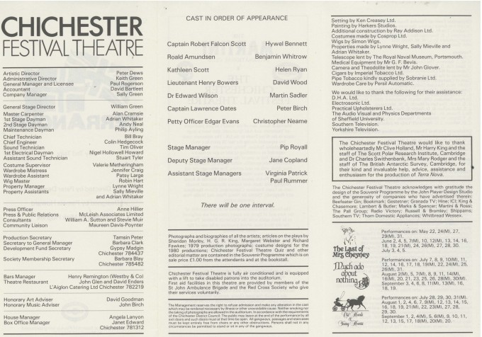 Cast List - Terra Nova - 1980 - 2 of 2