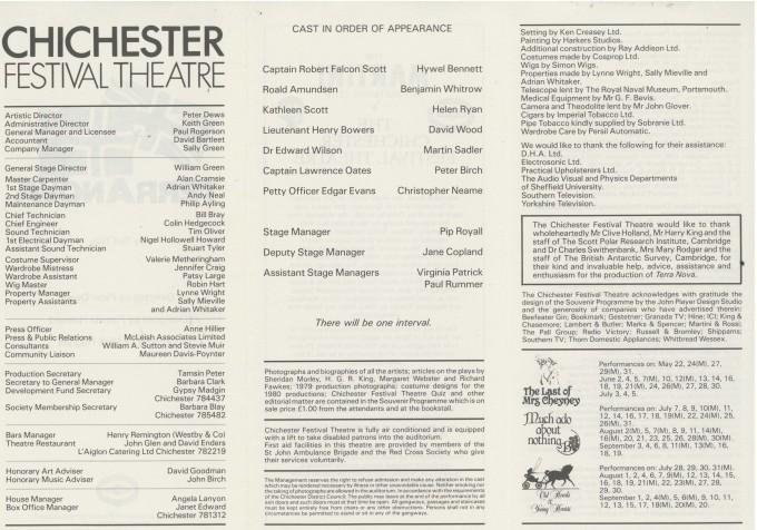 Cast List - Terra Nova - 1980 - 2 of 2