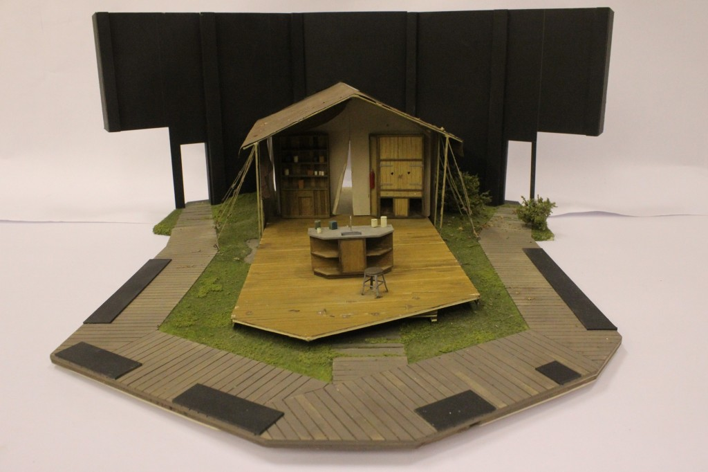 Canvas model box