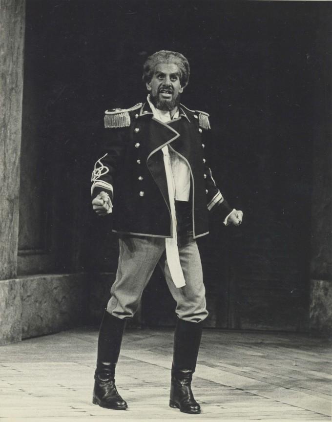 Production Photograph - Othello - Topol - Photographer John Haynes -1975 H25cm W20cm 1 of 2