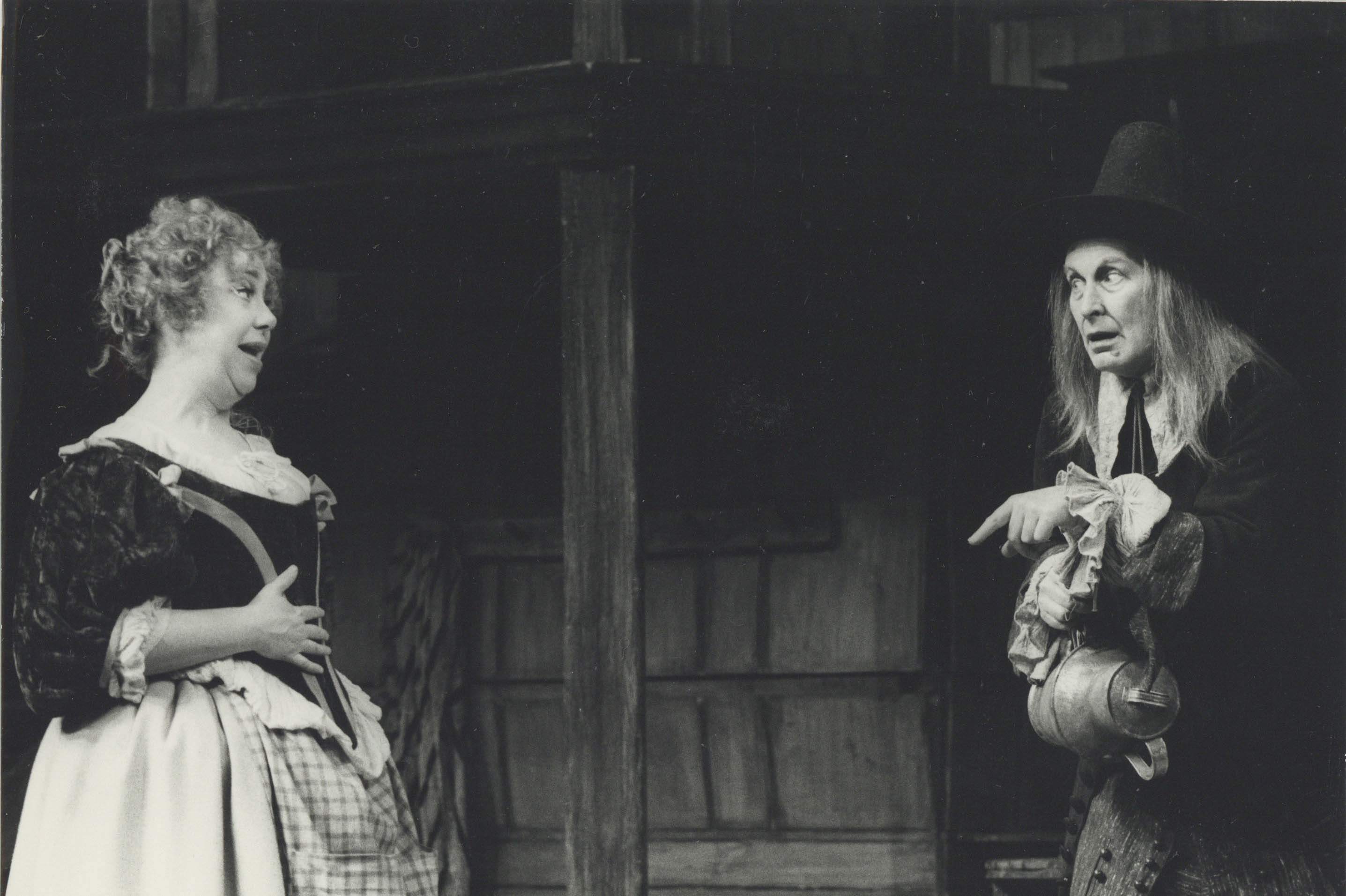 Production Photograph - The Confederacy - Peggy Mount, Peter Gilmore - Photographer Zoe Dominic -  1974 H17 x W24 1 of 2