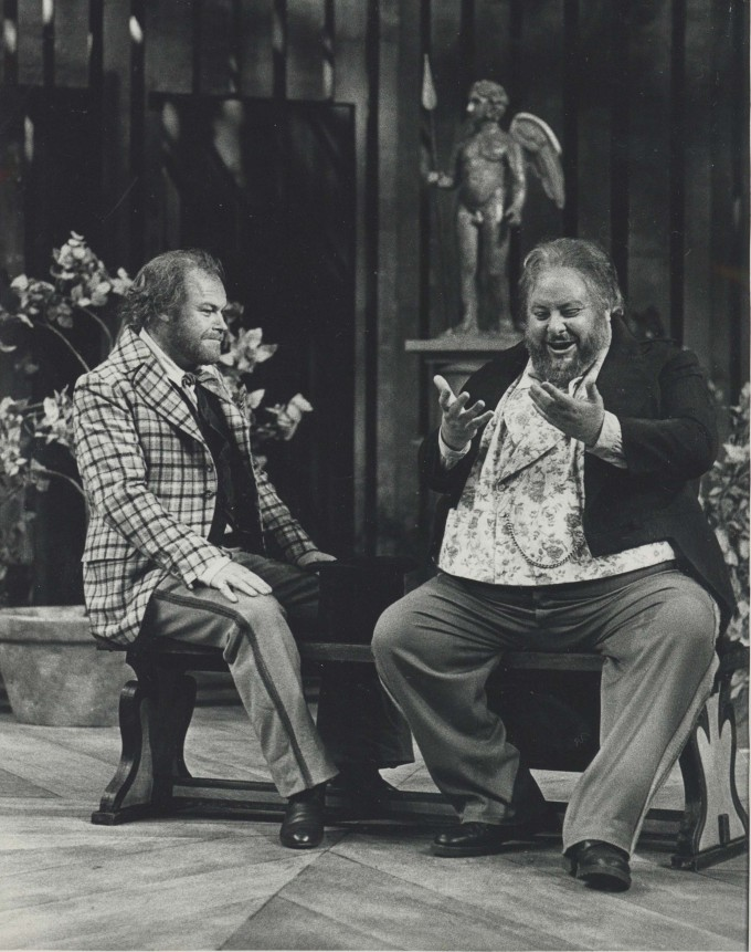 Production photograph - A Month in the Country - Timothy West - Photographer Reg Wilson - 1974 - H25.5 x W20 - 1 of 2