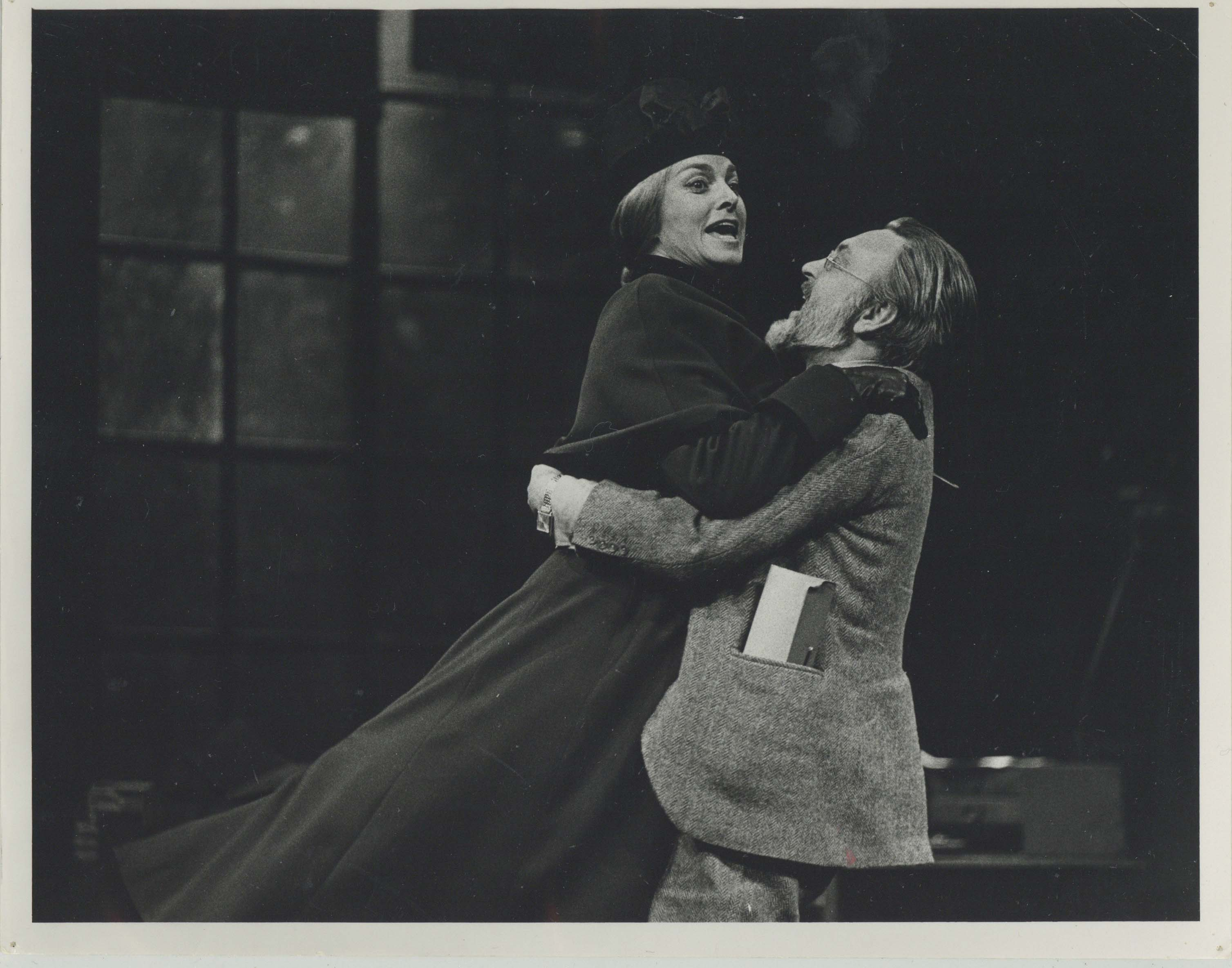 Production photograph - An Enemy of the People - Donald Sinden, Barbara Jefford - Photographer Reg Wilson - 1975 - H20cm x W25.5cm  - 1 of 2