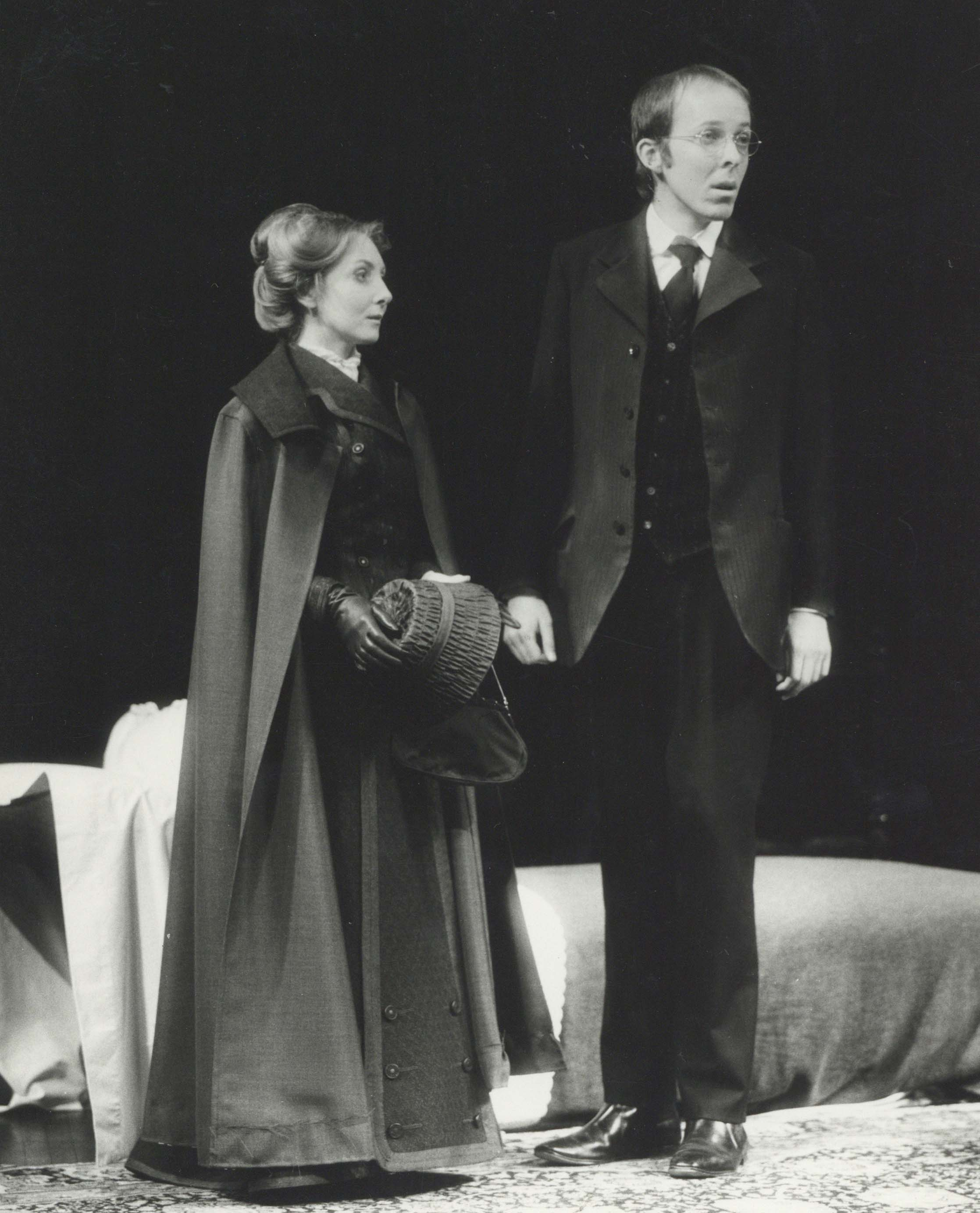 Production photograph - The Seagull - Maureen O'Brien, Peter Eyre - Photographer unknown - 1973 - Dimensions unknown