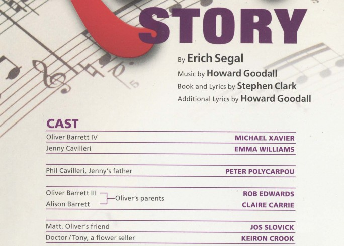 Cast List - Love Story - 2010 - 1 of 2