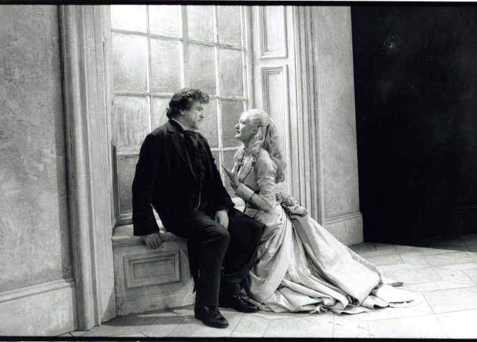 Production Photograph - Fortune's Fool - Alan Bates, Rachel Pickup - Photographer Ivan Kyncl - 1996 - H25xW20cm 1 of 2