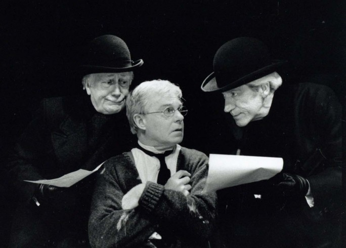 Production Photograph - Hadrian VII - Sir Derek Jacobi, James Maxwell, Joseph o'Conor - Photographer Ivan Kyncl - 1995 - H25xW20cm 1 of 2