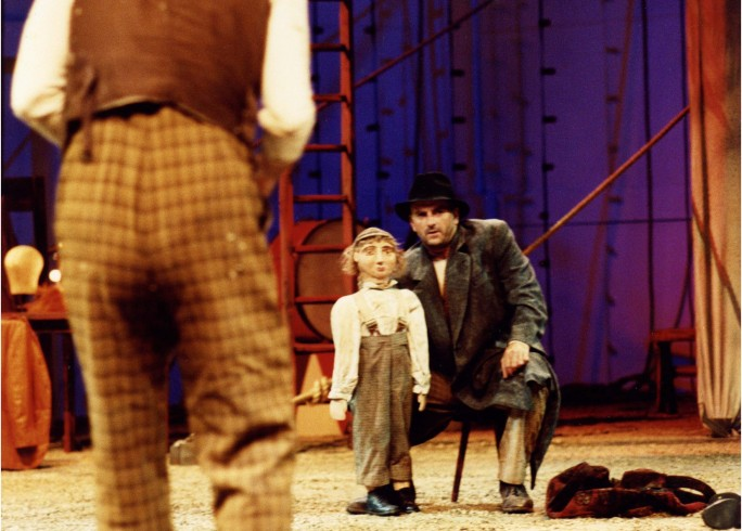 Production Photograph - I Caught My Death in Venice - Martin Marquez , John Marquez - Photographer Clare Park - 2003 - H30x40cm