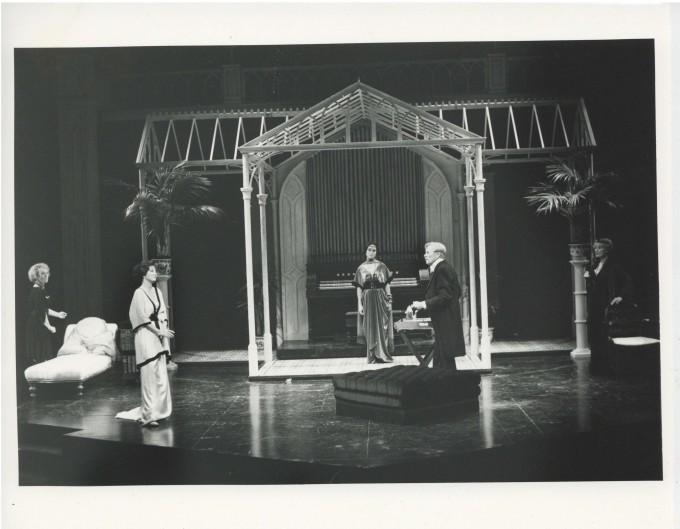 Production Photograph - Preserving Mr. Panmure - Abigal McKern, Alec McCowen, Julia Foster - Photographer John Haynes - 1991 - H20cm W25.5cm - 1 of 2