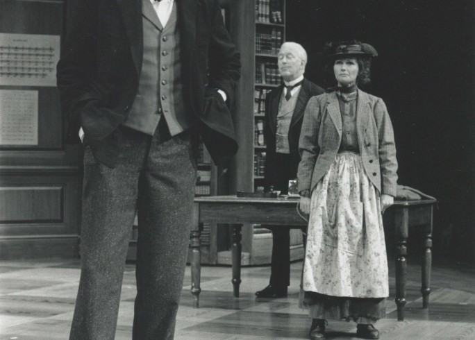Production Photograph - Pygmalion - Peter Bowles, Fiona Fullerton, Michael Dennison - Photographer John Timbers - 1994 - H20xW25cm 1 of 2