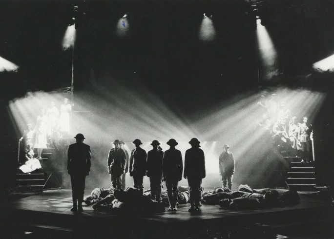 Production photograph - Cavalcade - Photographer John Haynes - 1985 - H16.5cm W21.2cm - (8)