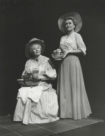 Production photograph - Cavell - Joan Plowright, Dulcie Grey - Photographer Reg Wilson - 1982 - H25.5cm x W20cm - 1 of 2