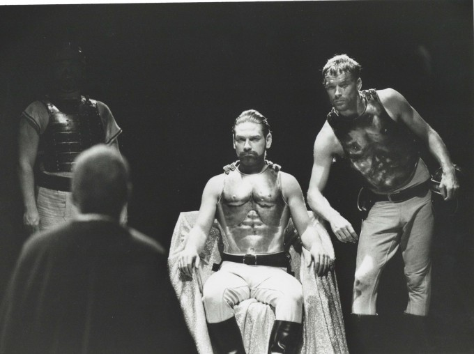 Production photograph - Coriolanus - Kenneth Branagh, Iain Glen - Photographer Richard Smith - 1992 - Dimensions unknown