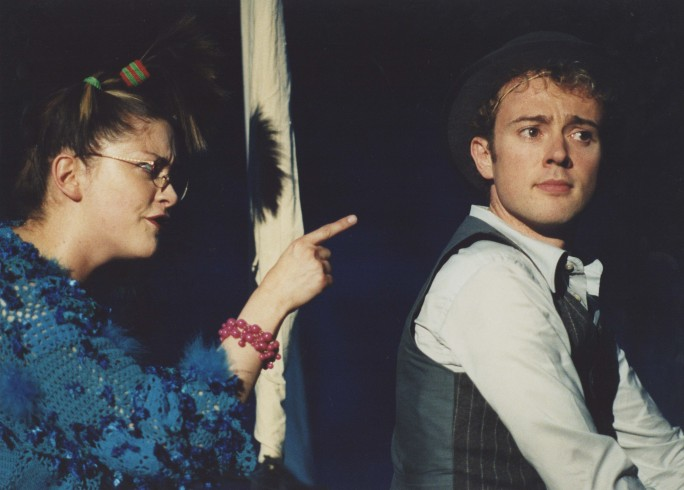 Production photograph - Julie Atherton, Richard Dempsey - Just So - 2004 - Photographer Clare Park
