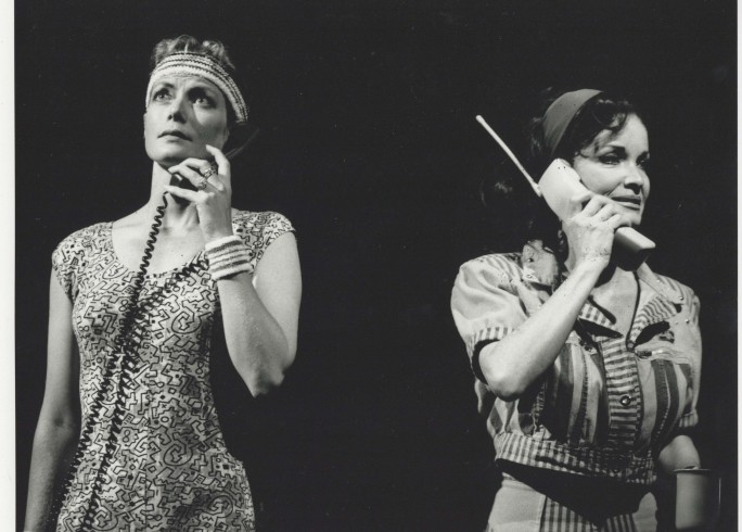 Production photograph - King Lear in New York - Kate O'Mara - Photographer John Timbers - 1992 - H25xW20cm