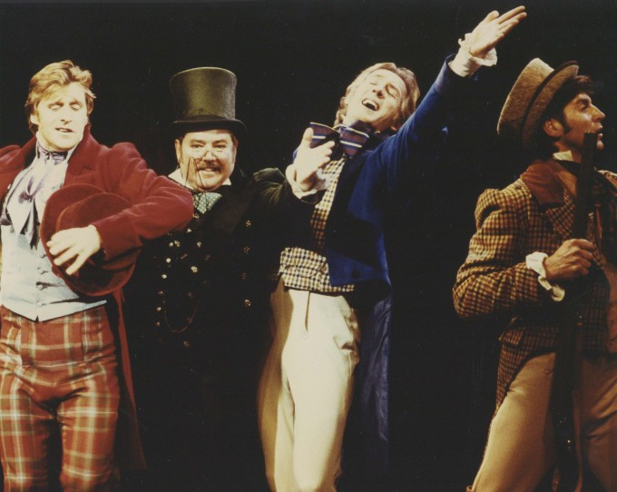 Production photograph - Pickwick the Musical  - Photographer John Timbers - 1993 - H20xW25cm