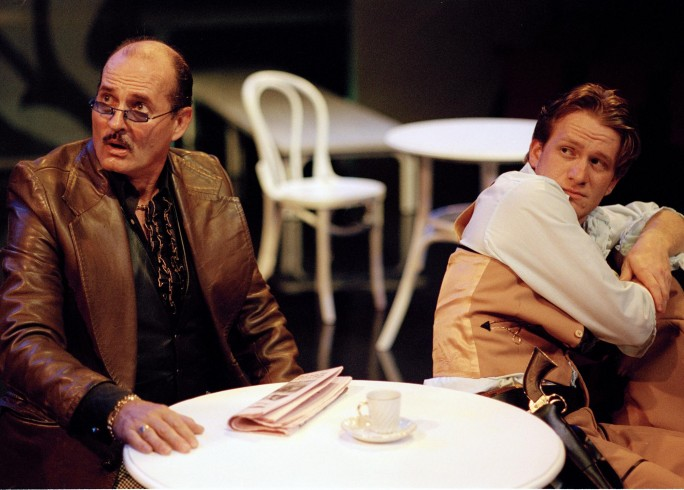 Production photograph - The Coffee House - Paul Bentall, Jamie Parker - Photo unknown - 2003