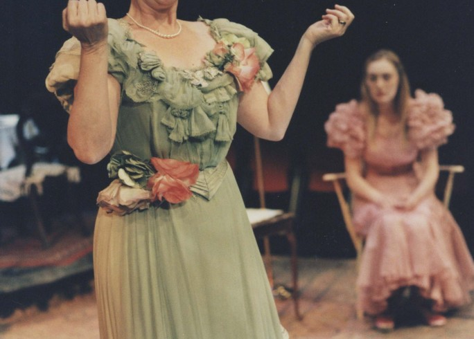 Production photograph - The Glass Menagerie - Gemma Jones - Photographer Tristram Kenton - 1998 - H25.3x W20.5cm