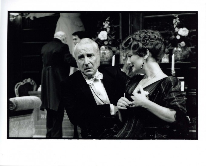 Production photograph - The Magistrate - Ian Richardson, Abigail McKern - Photographer Ivan Kyncl - 1997 - H25cmxW20cm - 1 of 2