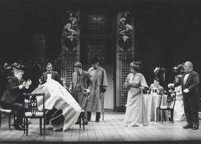 Production photograph - The Matchmaker - Photographer John Timbers - 1993 - H20cmxW25cm