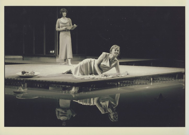 Production photograph - The Merchant of Venice -  Niamh Cusack - 2003 - Photographer Ivan Kyncl - H29.7xW42cm 2 of 2