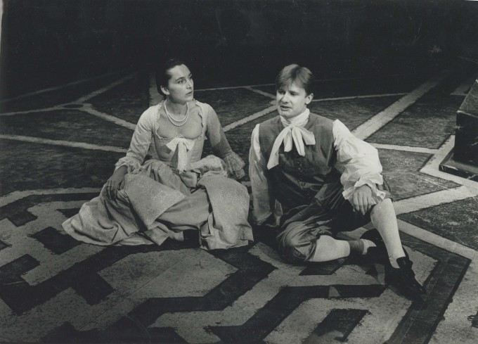 Production photograph - The Triumph of Love - Photographer Unknown - 1989 H21.5 x W30 1 of 1