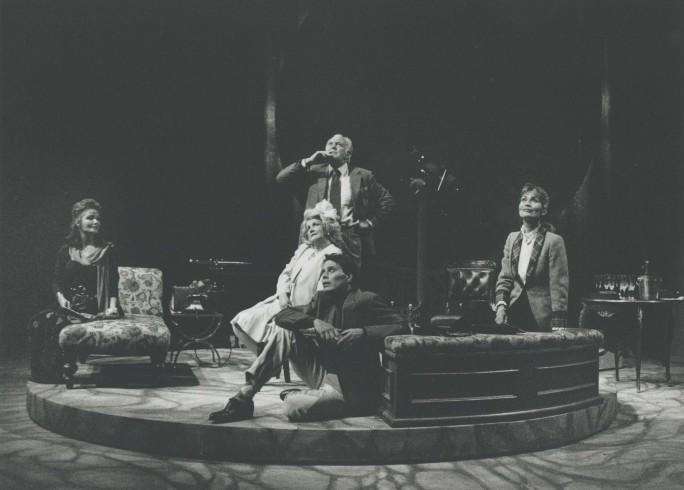 Production photograph - Venus Observed - Kate O'Mara, Jean Boht, Donald Sinden, Alexandra Bastedo - Photographer  John Haynes - 1992 - H25xW20cm 20151215 1 of 2