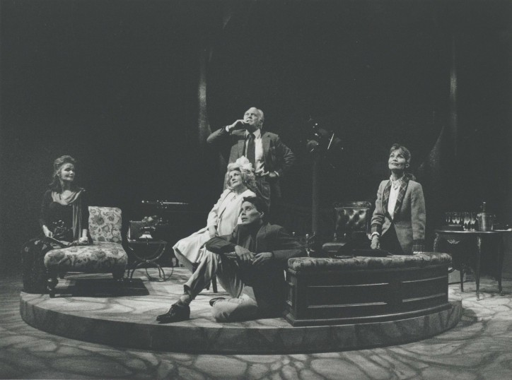Production photograph - Venus Observed - Kate O'Mara, Jean Boht, Donald Sinden, Alexandra Bastedo - Photographer  John Haynes - 1992 - H25xW20cm 20151215 1 of 2