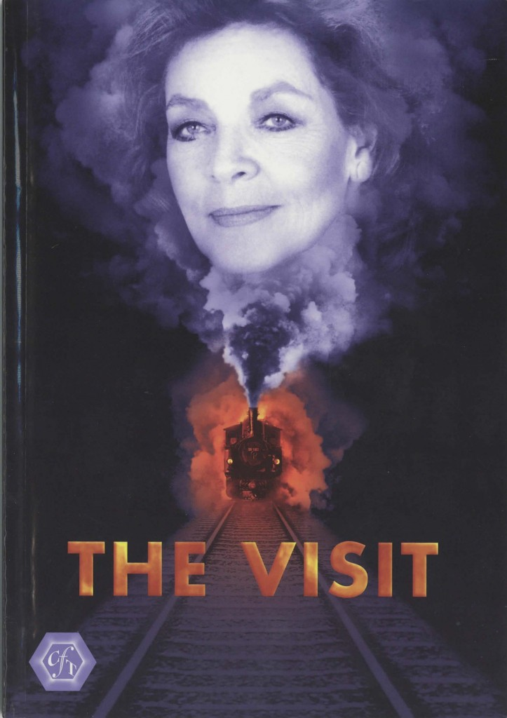 Signed Programme - The Visit, Ralph Ansley - 1995 - R.Ansley Collection - H24.8cm W17.4cm - 01 of 15