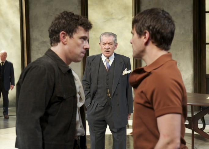 Production Photograph - The Syndicate - David Shaw-Parker, Michael Thomson, Ian McKellen, Michael Stevenson - Photographer Manuel Harlan - 2011