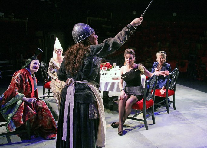 Production photograph - Top Girls - Company - Photographer John Haynes - 2011 (2)