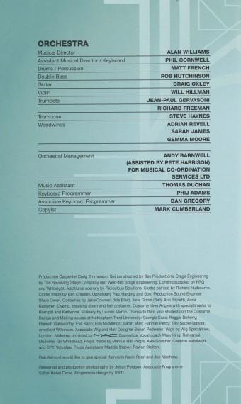 Cast List - Damsel in Distress - 2015 - 3 of 4